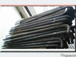 Фундаментные болты от 12мм до 120 мм диаметром