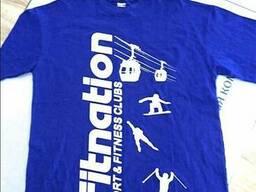 Корпоративные футболки с логотипом, печать на футболках