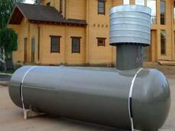 Газгольдеры (емкости для сжиженного углеродного газа) 4,6 м3