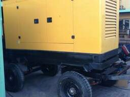 Генератор дизельный передвижной в тихом кожухе c АВР - фото 3