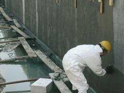 Гидроизоляция обмазочная для наружных и внутренних работ.