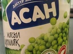 Горошек зеленый ж/б 425 гр
