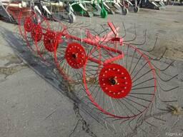 Грабли ворошилки 5 колес