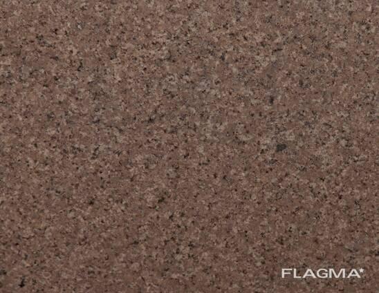 Гранит коричневый Куртинский, изделия из камня