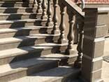 Гранит коричневый Куртинский, изделия из камня - фото 5