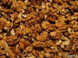 Грецкий орех цельный , дробленный , сечка