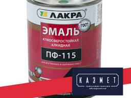 Эмаль черная ПФ-115 ГОСТ 6465-76