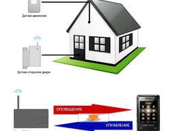 GSM сигнализация для дома, дачи, квартиры, офиса, гаража