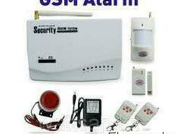 GSM сигнализация Security Alarm System.