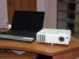 Hd проектор в аренду с ноутбуком только в Астане.