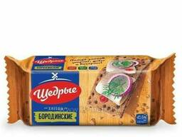 Хлебцы бородинские 100 гр. Щедрые