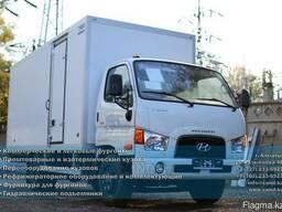 Hyundai HD78 Промтоварный фургон с боковой дверью
