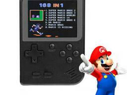 Игровая консоль карманная Dendy G1 Game [168 встроенных. ..