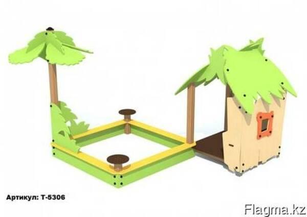 Игровой модуль песочница домик