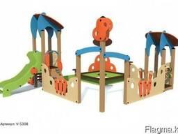 Игровой модуль песочный дворик