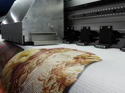 Интерьерная печать на баннерной ткани «Сетка»