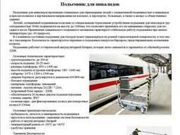 Инвалидный подъемник для железнодорожных вокзалов и аэропорт