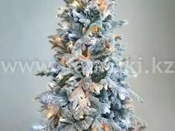 Искусственная елка премиум класса снежная Россо 1,2-2,1м