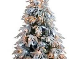Искусственная елка премиум класса снежная Форесто 1,2-2,1м