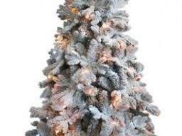 Искусственная елка премиум класса снежная Барокко 1,2-2,1м