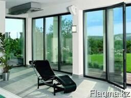 Изделия из алюминия (окна, двери, витражи) любой сложности
