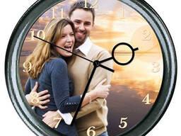 Изготовление часов с изображением!!