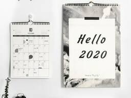 Изготовление календарей под заказ!!
