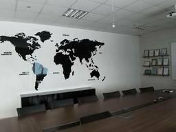Изготовление карты мира!!