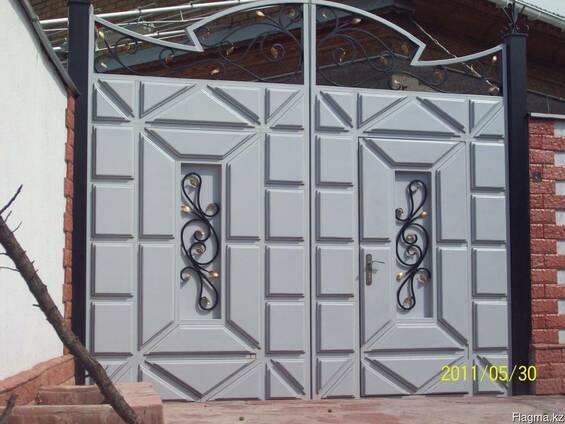 Изготовление кованных дверей решеток