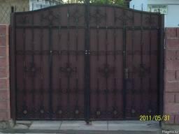 Изготовление кованных дверей решеток - фото 2