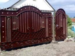 Изготовление кованных дверей решеток - фото 5