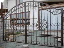 Изготовление кованых ворот и заборов