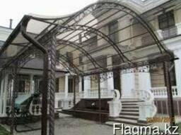 Изготовление навесов в Алматы