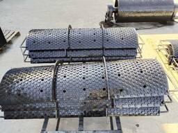 Износостойкая металлокерамическая футеровка