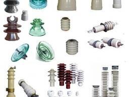 Изоляторы. Стеклянные, фарфоровые, полимерные