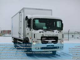 Изотермический фургон Hyundai HD260 COND