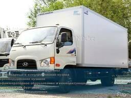Изотермический фургон Hyundai HD78 COND