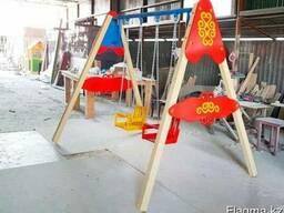 Качеля. Производство Игровых комплексов в Казахстане. Астана