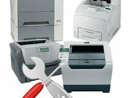 Качественный ремонт лазерных принтеров, МФУ, копиров