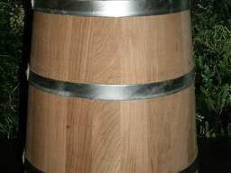 Кадка дубовая для засолки 50л (кадушка)