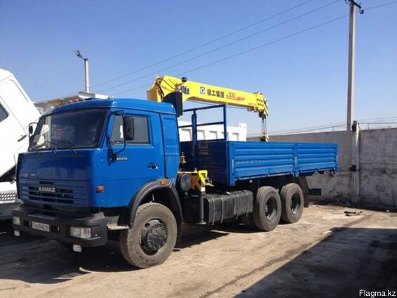 КАМАЗ 53215-052-13 дооборудованный КМУ XCMG SQ6.3SK3Q