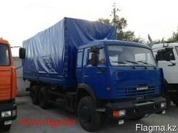 КамАЗ 53215 бортовой 11тн, тент каркас,6х4,240л. с - фото 3