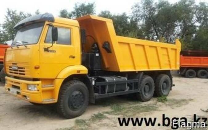 КамАЗ 6520-026 самосвал 20тн кузов 12м3 спальник