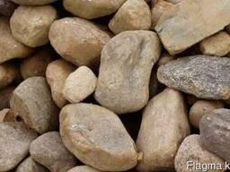 Камень бутовый, окол, булыжник - Доставка HOWO 25тонн