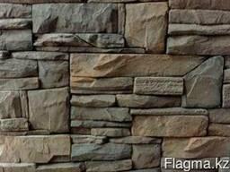 Камень декоративный Евразия тёмно-коричневая