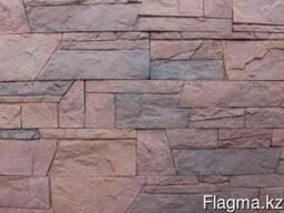 Камень декоративный Грация тёмно-коричневый