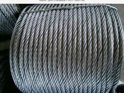 Канат трос стальной ГОСТ 3062-80 одинарной свивки