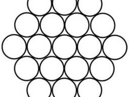 Канаты одинарной свивки спиральные 0. 65x0. 24x0. 22 мм ЛК-О ГО