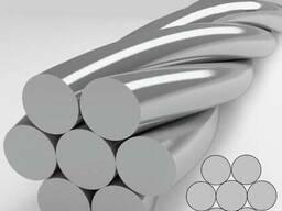 Канаты одинарной свивки спиральные 0.8x0.28x0.26 мм ЛК-О ГОС