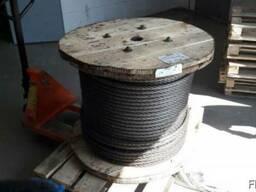 Канаты одинарной свивки спиральные 5.6x1.2x1.1 мм ТК ГОСТ 30